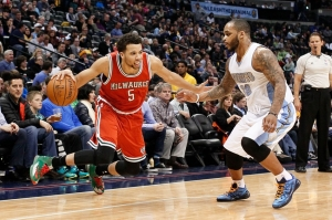 NBA: Milwaukee Bucks at Denver Nuggets